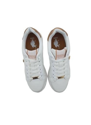U.S. Polo Assn. Kadın Ayakkabı Exxy 100606373 Beyaz